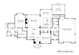 Country Farmhouse Floor Plans by Aldea Plan 4075 Edg Plan Collection