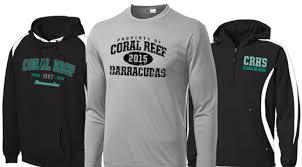 high school senior apparel high school senior apparel coral reef senior high school