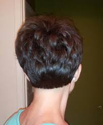 front and back views of chopped hair 30 chic pixie haircuts best pixie cuts we love for 2017 short