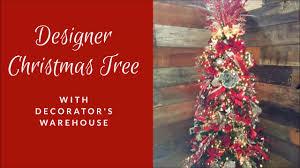 designer tree decorating tutorial