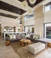 The New American Home Marquis Seven Hills Contemporary - Designer living rooms 2013