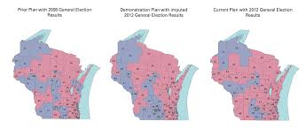 Wisconsin Assembly District Map by Baby Steps Towards Measuring The Efficiency Gap Tecznotes