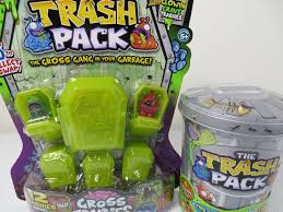trash pack gross zombies exclusive series 3 unboxing toy