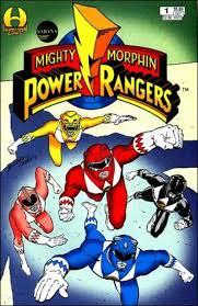 black power ranger character comic vine