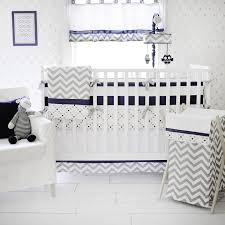 Gray Baby Crib Bedding Navy Baby Bedding Navy Crib Bedding Navy Blue Crib Bedding