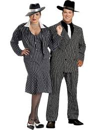 Mafia Halloween Costume Halloween Cosplay Costumes Couples