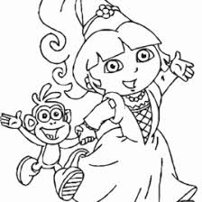 coloring pages with dora kids drawing and coloring pages marisa
