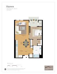 1237 West Floor Plan by Residences Tam Ridge Residences