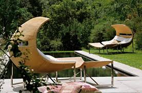 awesome unusual patio furniture rattan wicker daybed stainless