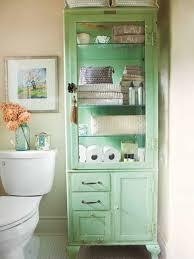 bathroom storage ideas green vintage linen tower clever bathroom