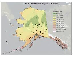 Alaska Temperature Map by Deep Cold Interior And Northern Alaska Weather U0026 Climate Fall
