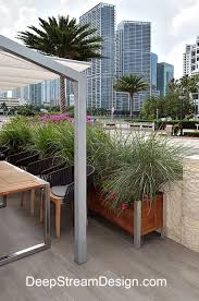 Raised Patio Planter by Gardening In The Sky Balcony U0026 Rooftop Planters Forum Sharing