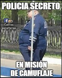 Memes Humor - policía secreto camuflado memes humor and meme