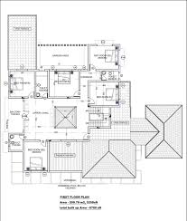 House Measurements Very Modern Beautiful Kerala House With Plans
