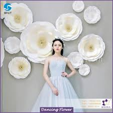 wedding backdrop cost high quality and cheap cost large wedding backdrop paper flowers