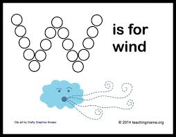 w is for weather letter w printables teaching mama