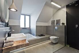 fabulous glass door an attic is transformed into a apartment