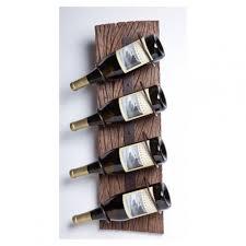 rustic wall mounted wine racks home