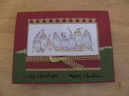 christmas handmade card karen u0027s cards u0026 ideas
