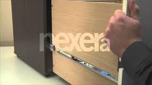 coulisse tiroir cuisine aide nexera introduire et retirer un tiroir sur coulisses pleine
