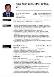 Medical Coder Resume Sample by Medical Coder Resume India Virtren Com