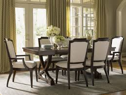 lexington kensington place seven piece dining set with chairs