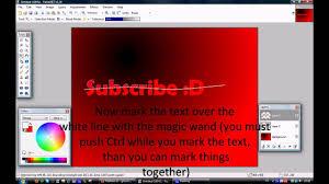 paint net tutorial text effects part 1 reflect glossy 3d