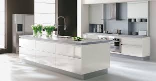 deco cuisine blanche et grise modèle deco cuisine blanche et grise cuisine blanche exemple et