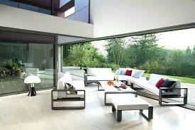modern patio furniture patio ideas contemporary outdoor table affordable