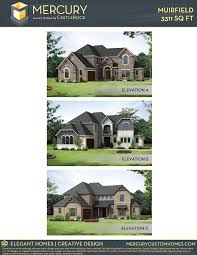 muirfield mercury home plan by castlerock communities in inspiration