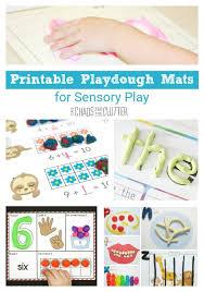 printable playdough recipes printable playdough mats for sensory play
