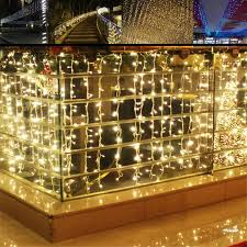 led christmas lights wholesale china connectable 4m 96 led icicle curtain string light door led christmas