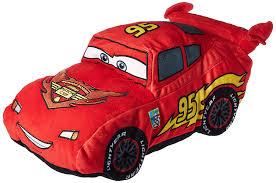 amazon disney pixar cars lightning mcqueen 19 u201d red plush