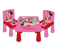 Minnie Mouse Table And Chairs Smart Office Supplies Ltd