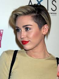 whats the name of the haircut miley cyrus usto have short and edgy the celebrity undercut miley cyrus hair