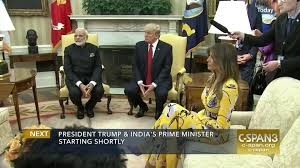 president trump indian prime minister oval office meeting c span org
