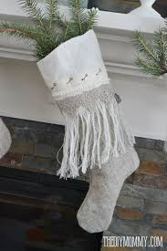 burlap christmas sew linen burlap christmas anthropologie inspired