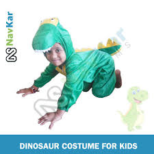 dinosaur costume for fancy dress competition for kids at rs 850