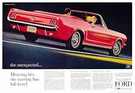 ford mustang ad directory index mustang 1964