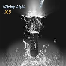best primary dive light hi max best selling 10w cree q5 led waterproof diving flashlight