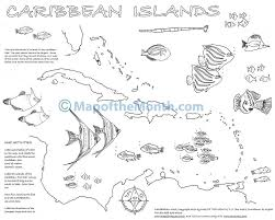 The United States Map With Names by Caribbean Islands Maps For The Classroom