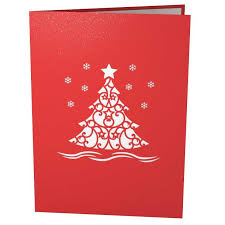 3d christmas cards 3d christmas tree pop up card lovepop
