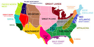 Florida Regions Map by I Made A Map Of The Regions Of The U S Live Food General