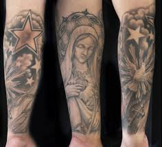 dove and cross tattoo religious catholic mother and cross with dove u0026 rosary tattoo yelp