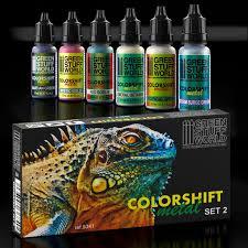 colorshift chameleon paint set