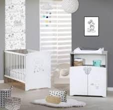 chambre bébé disney disney baby lit bébé disney originals en bois blanc pas cher