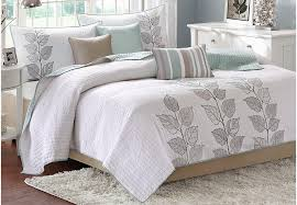 Queen Bed Coverlet Set Caelie White 6 Pc King Coverlet Set King Linens White