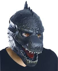 scary halloween costumes for boys godzilla 3 4 scary mask costume craze