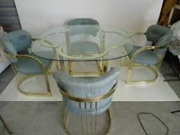 Brass Dining Table Transport My Hollywood Regency Brass Dining Table 4 Brass Tub C To