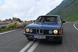 bmw e23 7 series conquers the land of dracula
